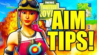 HOW TO AIM LIKE A PRO IN FORTNITE! HOW TO IMPROVE YOUR AIM FORTNITE AIMING TIPS AND TRICKS!