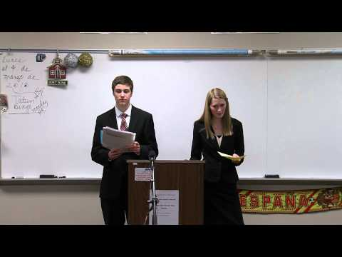 2013 AA Public Forum Debate