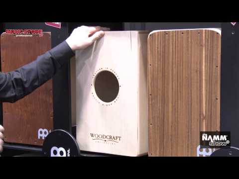 NAMM 2014 - Meinl Woodcraft Cajon made in Europe