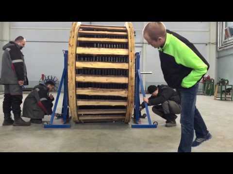 видео: Установка кабельного домкрата ДК-10ГМП-М-1 (часть 2)