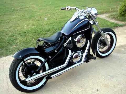 kawasaki vulcan 800 bobber and cobra pipes youtube. Black Bedroom Furniture Sets. Home Design Ideas