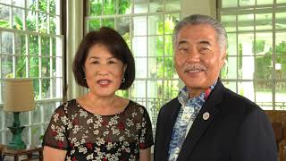 2021 JASH NYR - Special Message from Governor and Mrs. Ige