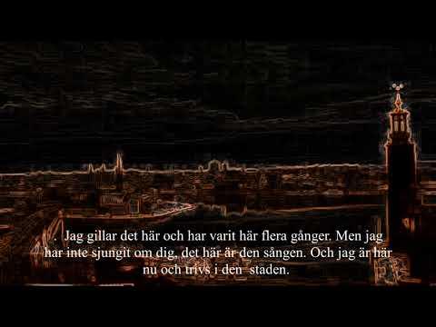 STOCKHOLM du ser mig,  KARAOKE, svein sjøthun