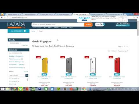 Lazada Purchasing - Sold By Who?