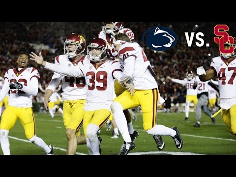 USC's Dramatic Rose Bowl Win Vs. Penn State    A Game To Remember