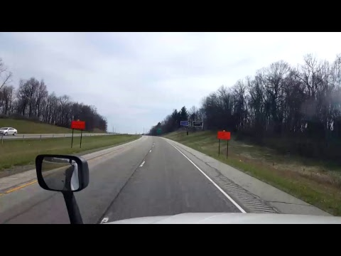 Bigrigtravels Live! - Cleveland, Ohio to Angola,  Indiana - Interstate 90  West- April 9, 2017