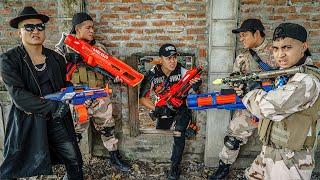 LTT Game Nerf War : SQUAD Warriors SEAL X Nerf Guns Fight Braum Crazy Attack Police Guard