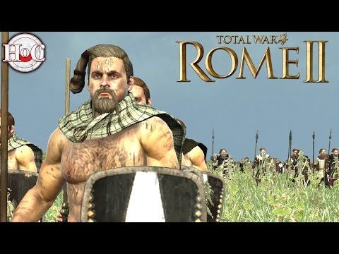 Nervii vs Sparta - Total War Rome 2 Online Battle Video 394