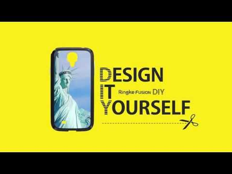 Design It Yourself - Ringke Fusion Galaxy S4