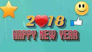 Happy New Year 2018 Download HD New Year Wallpapers
