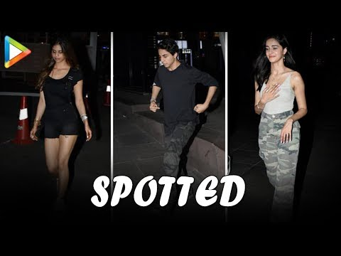 SPOTTED: Aryan Khan, Suhana Khan, Ananya Panday and other Star Kids @Farzi Cafe Mp3