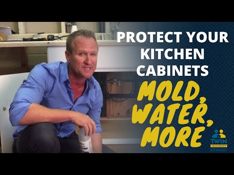 Protect Your Kitchen Cabinets From Water Damage, Mold and Musty Odors