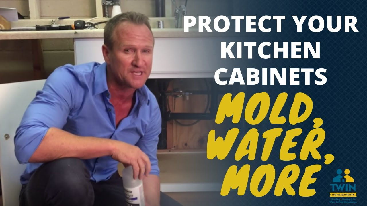 Protect Your Kitchen Cabinets From Water Damage Mold And Musty Odors Youtube