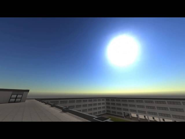 Day/Night Cycle with Procedural Scattersky | Galatea Project