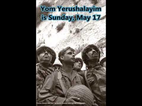 Shabbat Yerushalayim, May 15-17