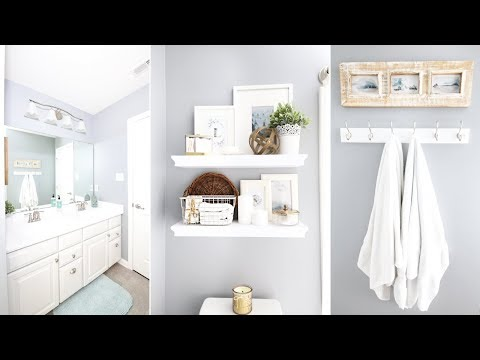 Guest Bathroom Refresh and Organization