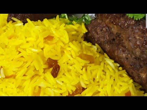 عشر دقايق بس لاحلى رز بسمتى مفلفل وعمره ما هيعجن /الارز البسمتى الاصفر زى المطاعم