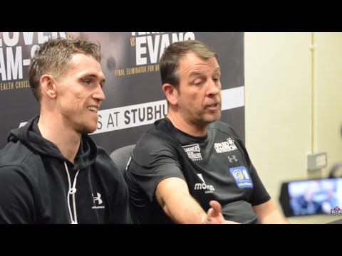Joe Gallagher Is P****D OFF At Reporters Asking About Smith Ryder Score Cards. POST FIGHT PRESSER.