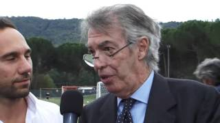 Massimo moratti a tavernelle: «papà legato perugia, un onore stadio suo nome»