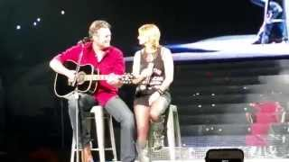 Miranda Lambert and Blake Shelton - God Gave Me You..okc..3.6.15