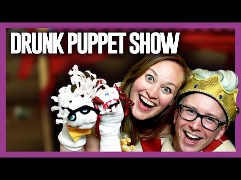 DRUNK PUPPET SHOW (ft. Mamrie) | Tyler Oakley