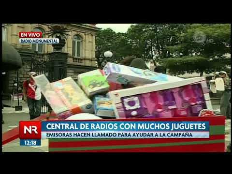 Central de Radios se suma a campaña de recolección de juguetes