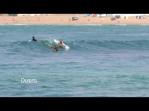 Ramadan bodyboarding session - la dale les sablettes mohammedia