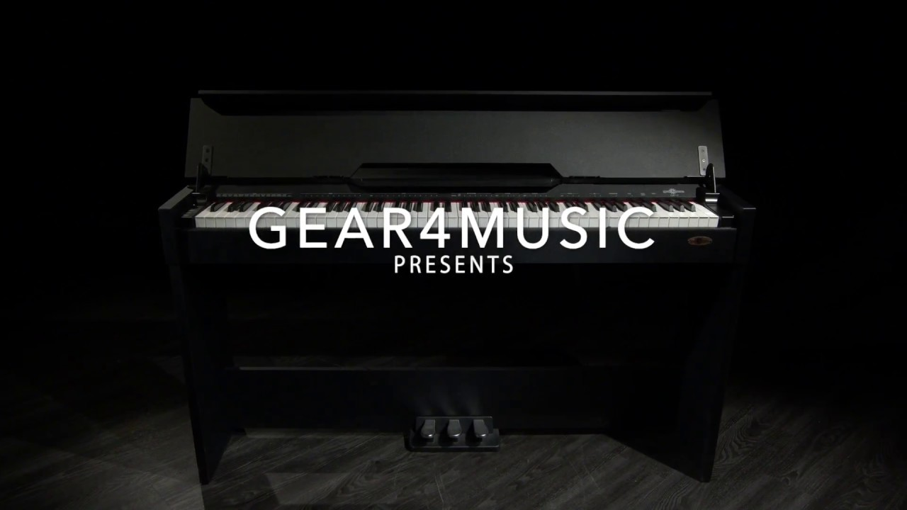 Dp 7 Compact Digital Piano Gear4music Demo Youtube