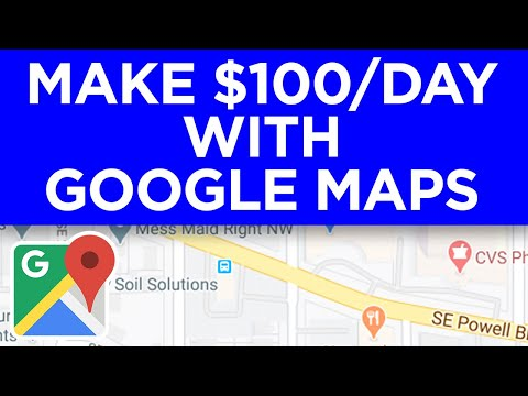How To Make $100 to $200 Per Day On Google Maps (Make Money Online)