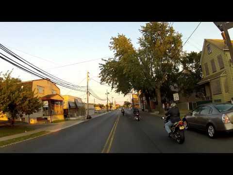 riding to perth amboy NJ 9/13/12 part #3.