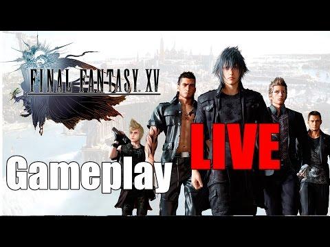 Final Fantasy XV - Gameplay Adrenaline LIVE!