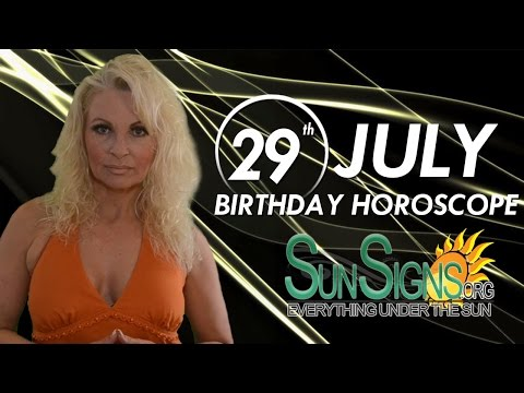 Birthday July 29th Horoscope Personality Zodiac Sign Leo Astrology