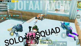 Best squad wipes || Insane DROP SHOTS || SOLO v SQUAD || MONTAGE || PUBG MOBILE