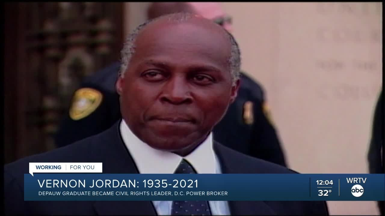 Vernon Jordan, Civil Rights Leader and D.C. Power Broker, Dies at 85