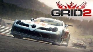 Grid 2 'McLaren SLR 722 GT PC Gameplay @ MAX Settings' [1080p] TRUE-HD QUALITY