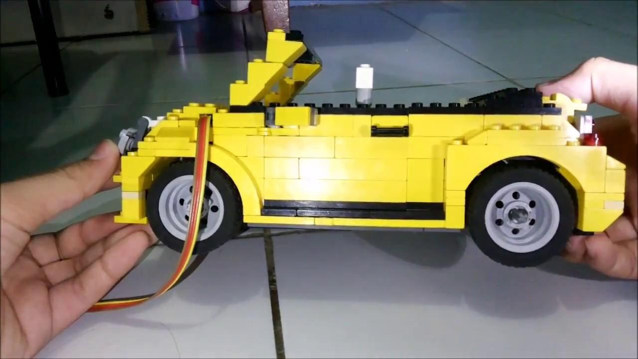 Lego Vw Beetle Cabriolet Youtube