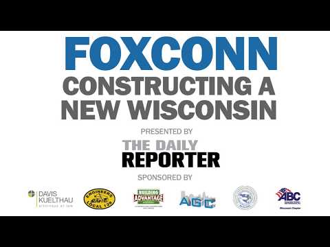 Foxconn — Constructing a New Wisconsin Panel Discussion