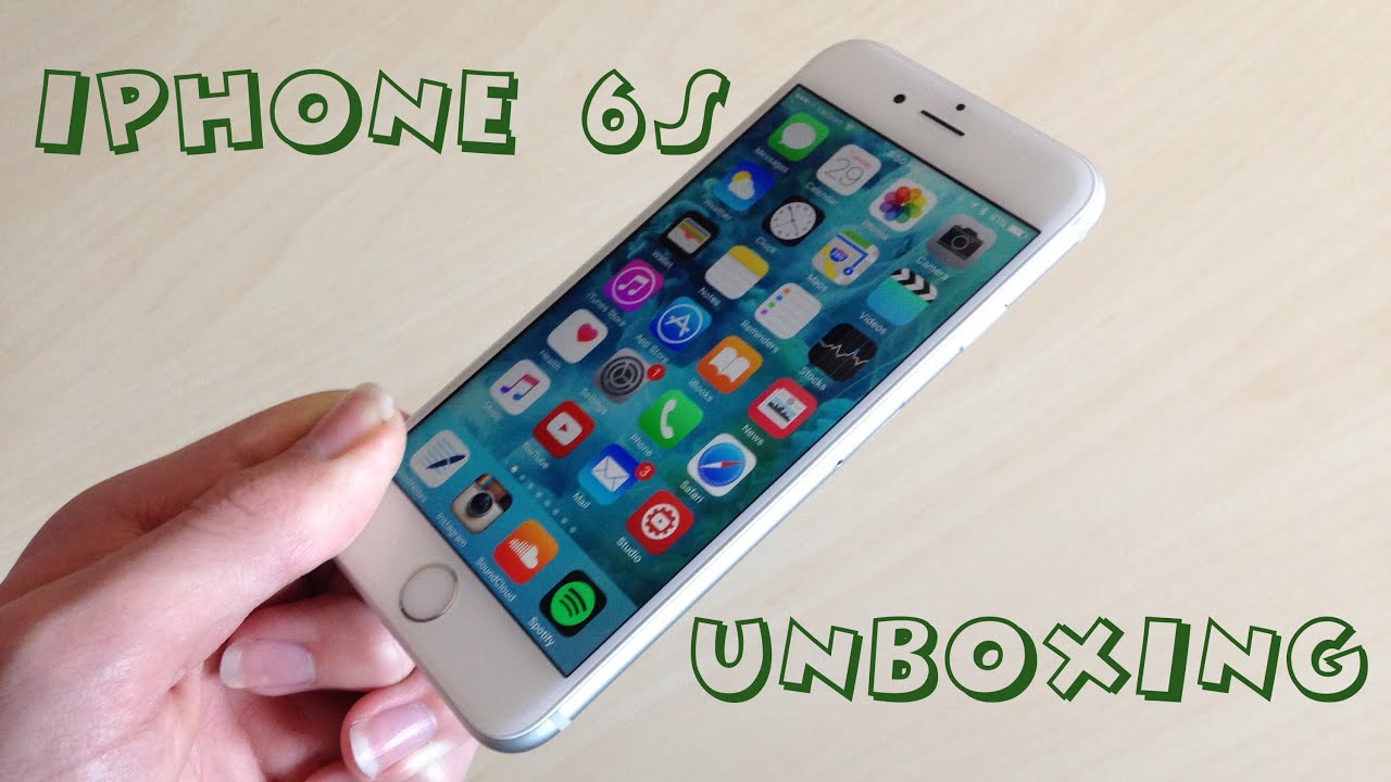 iphone 6s unboxing silver 64gb youtube. Black Bedroom Furniture Sets. Home Design Ideas