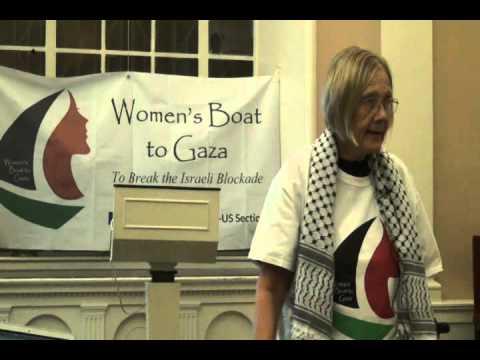 Ann Wright: Women's Boat to Gaza