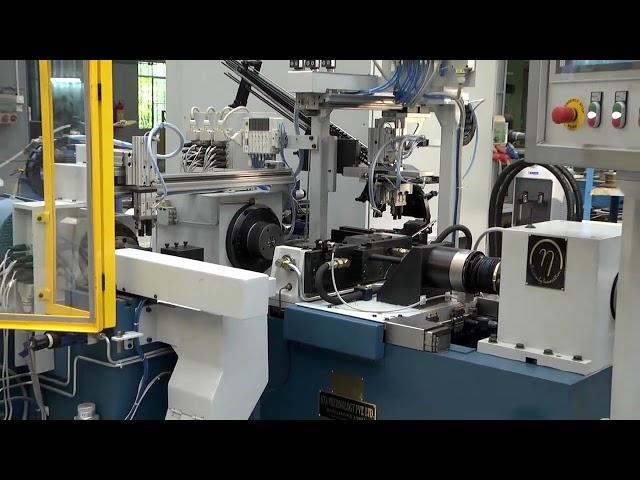 FRICTION WELDING  AUTO LOADING MACHINE