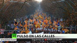 Las reivindicaciones están ligadas a la independencia catalana