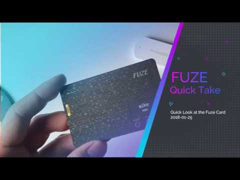 Fuze Card eCard - Quick Take After One Month