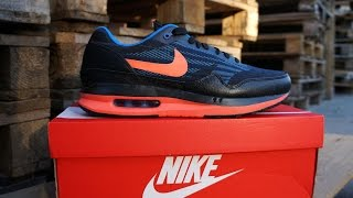 Nike Air Max Lunar 1 JCRD Black Bright Mango - Deep Royal Blue