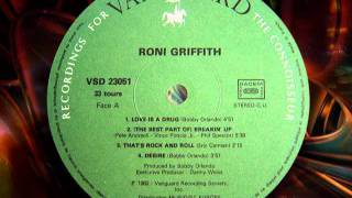 "RONI GRIFFITH   ""Love Is The Drug"""