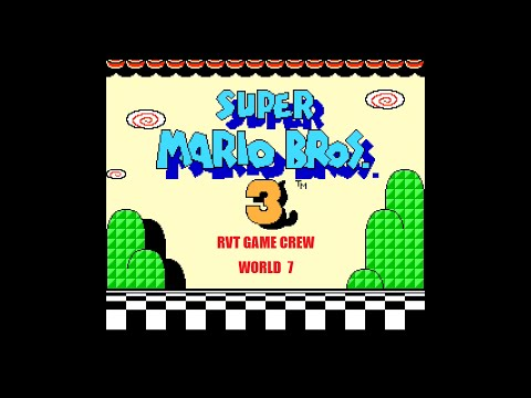 ALL OF THE PIPES! (Super Mario Bros 3 - World 7) RVT Game Crew