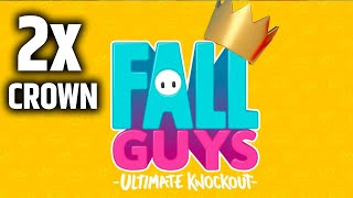 Fall Guys || Winning 2x Crowns!