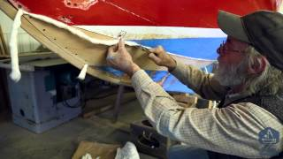Part 11 - How To Properly Caulk Tight Seams For Wooden Boatbuilding - Herreshoff 12 1/2