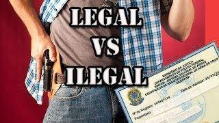 Vale a Pena Ter uma Arma Legalizada no Brasil???