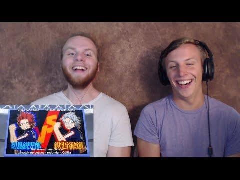 SOS Bros React - My Hero Academia Season 2 Episode 8 - Five Fights in One Episode!!