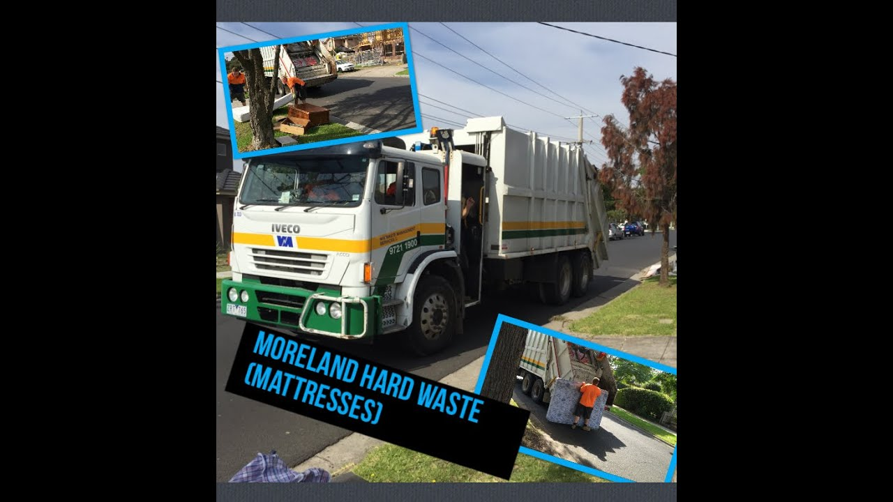 Moreland Hard Waste Mattresses Waste Management Rl Bl1133 Youtube